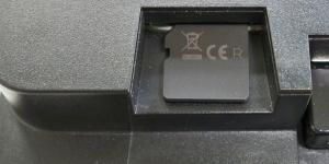 Detail: Position beim Einschieben der µSD-Karte