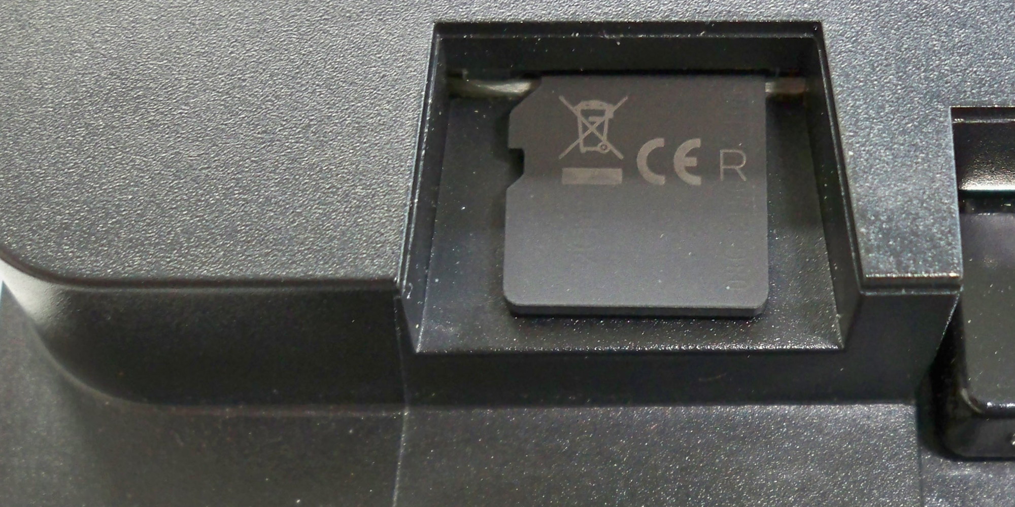 ALAN Schritt für Schritt: Einschieben der µSD-Karte an BRAIN
