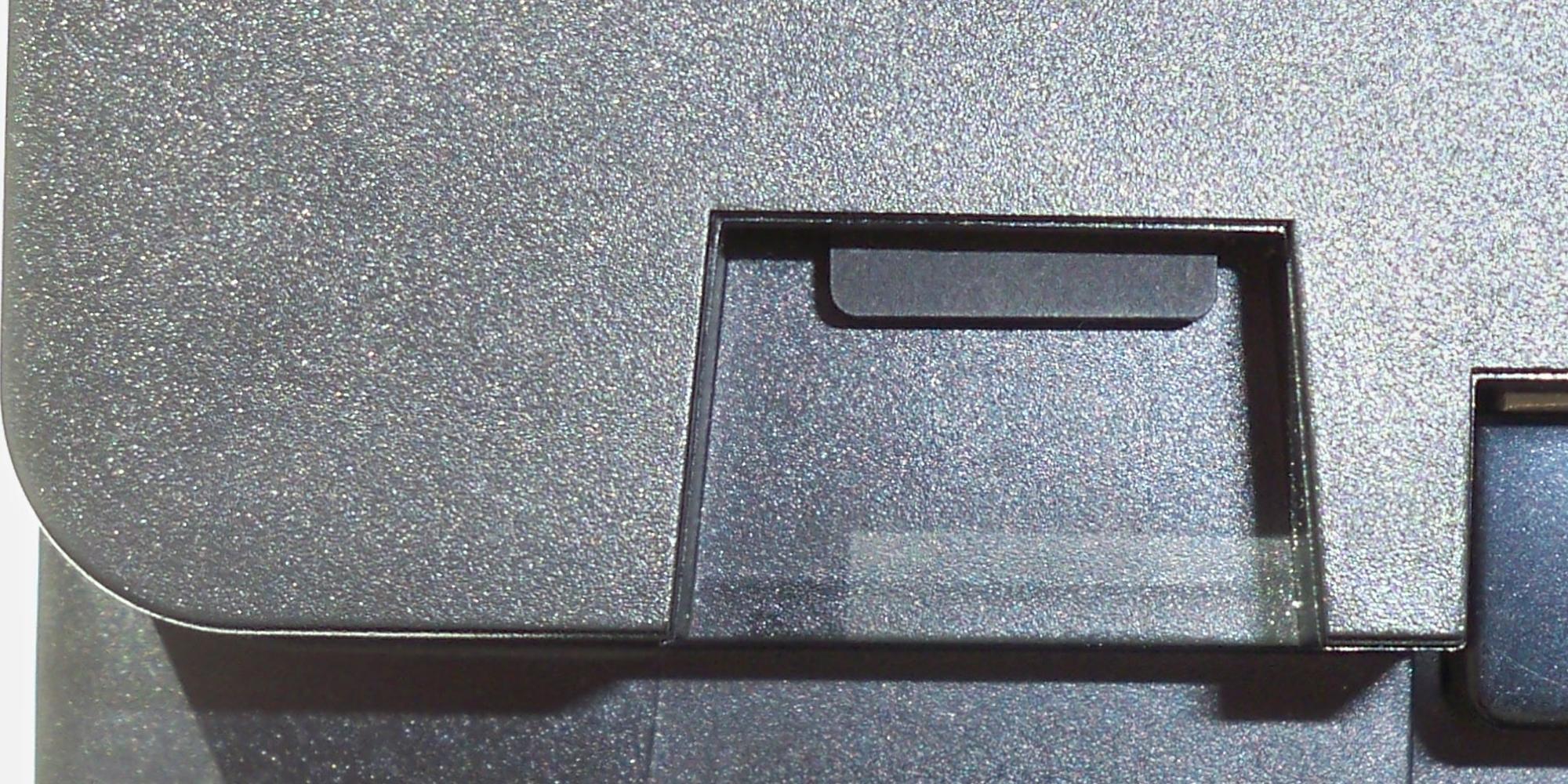 ALAN Schritt für Schritt: Schacht mit arretierter µSD-Karte an BRAIN