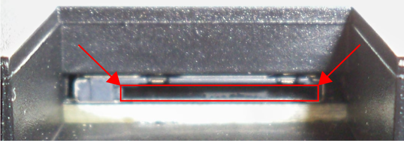 ALAN Schritt für Schritt: Schacht für µSD-Karte an BRAIN