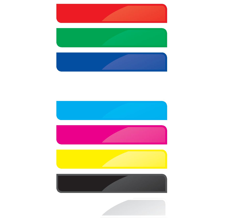 ALAN Baustein BRICK-H Farb-Etikett Artikel-Nummer 11306