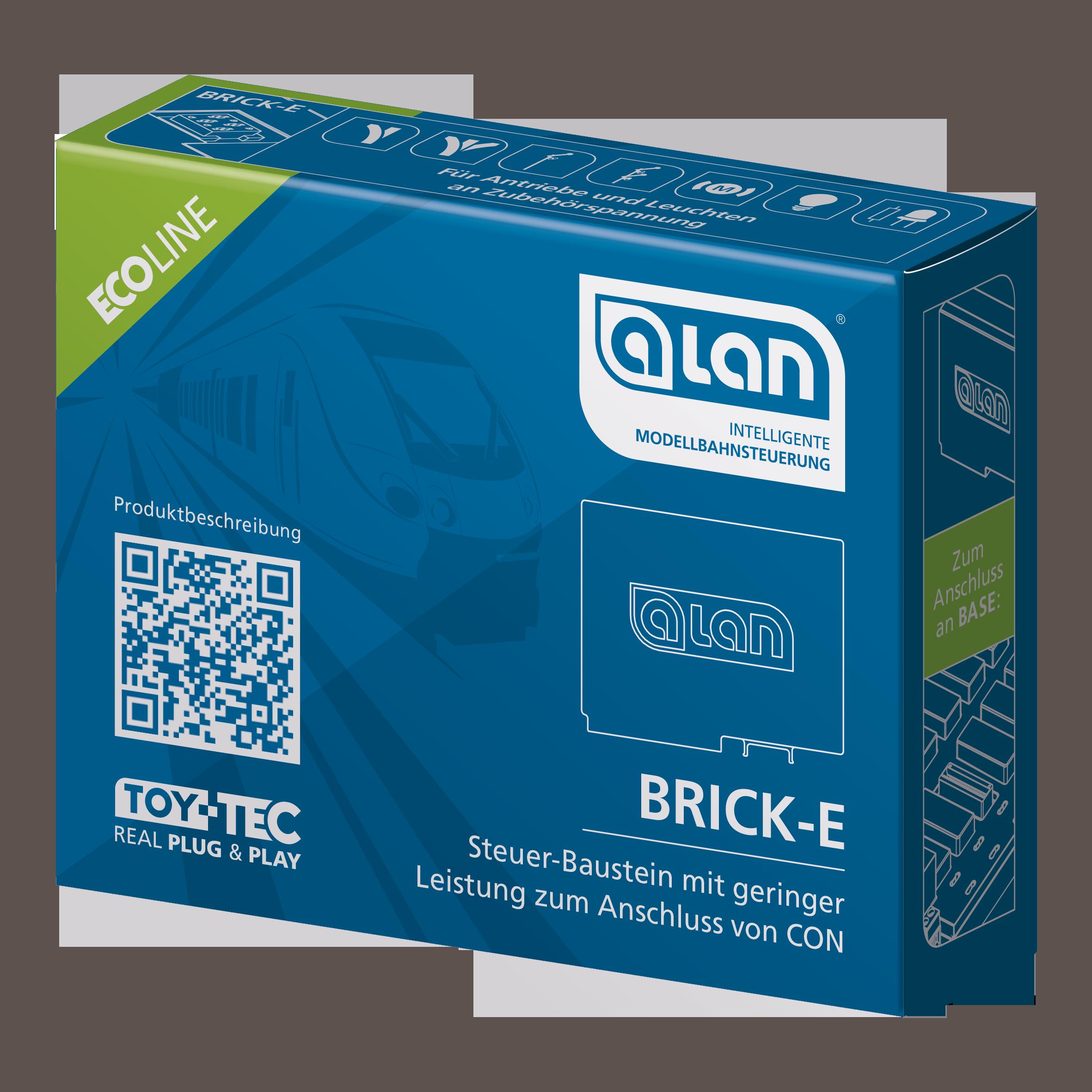 ALAN ECOline Baustein BRICK-E Verpackung Artikel-Nummer 11361
