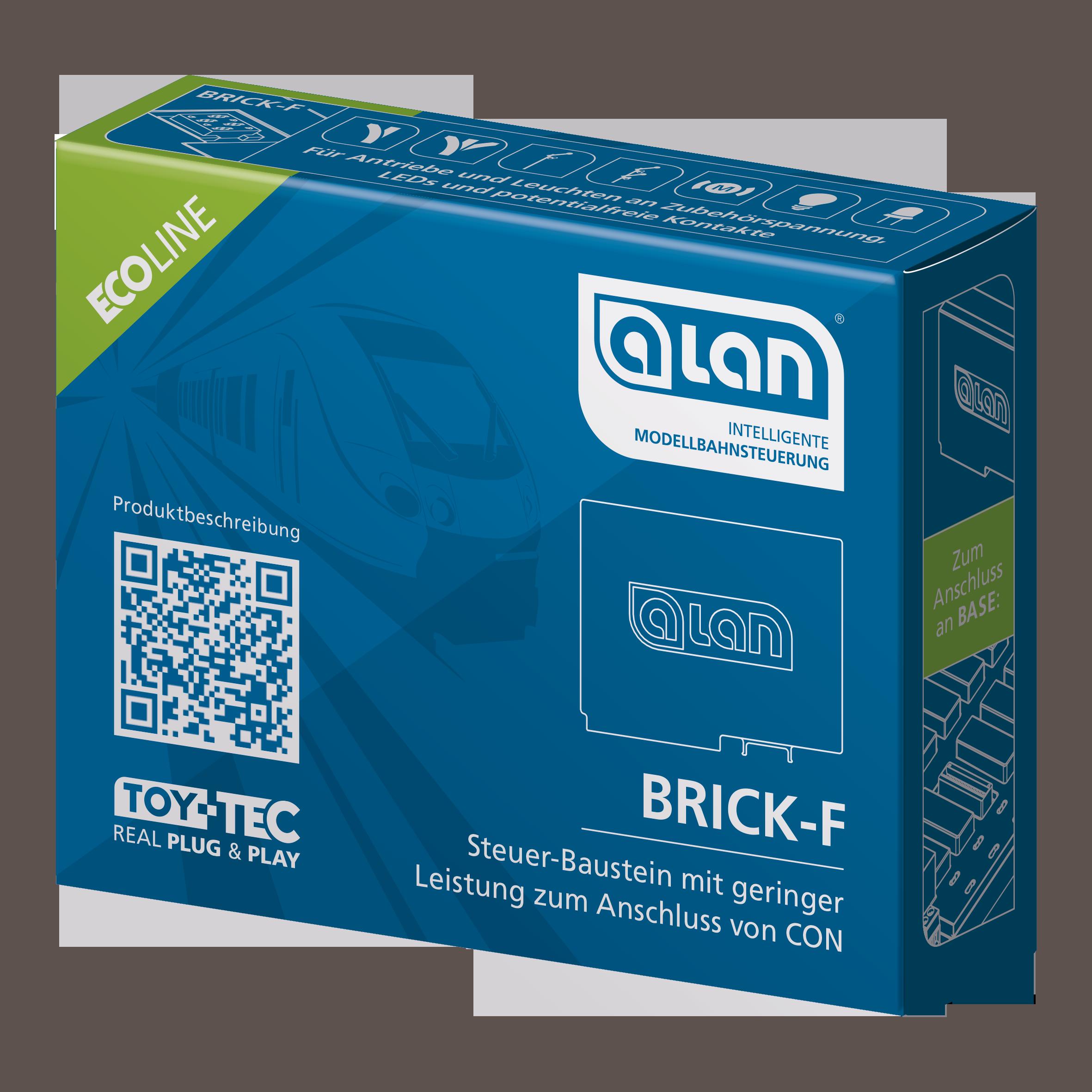 ALAN ECOline Baustein BRICK-F Verpackung Artikel-Nummer 11362