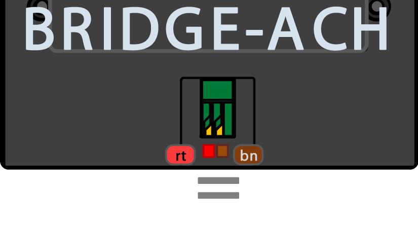 Anschluss BRIDGE-ACH