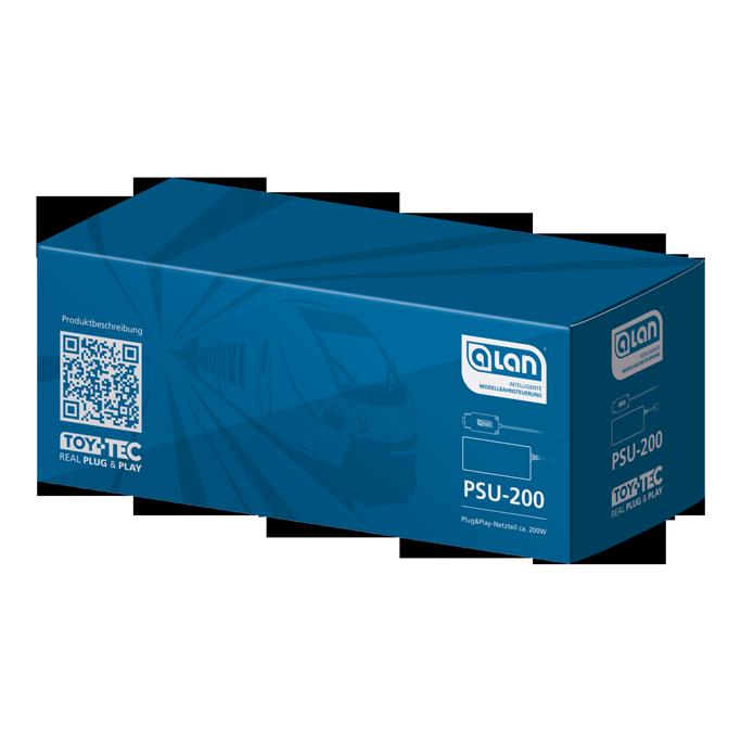ALAN System-Netzteil PSU-200 Verpackung Artikel-Nummer 11008