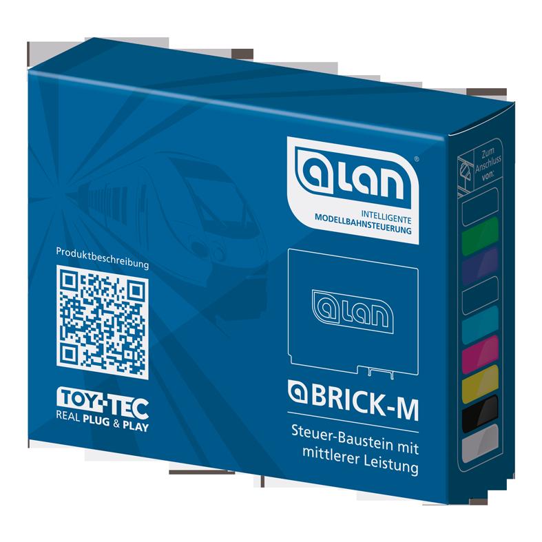 ALAN Baustein BRICK-M Verpackung Artikel-Nummer 11304