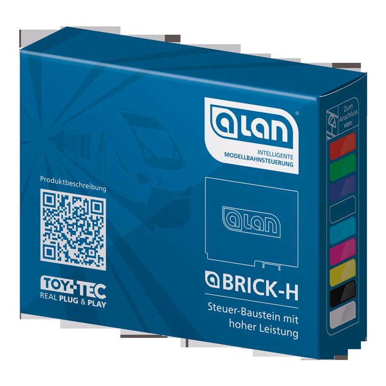 ALAN Baustein BRICK-H Verpackung Artikel-Nummer 11306