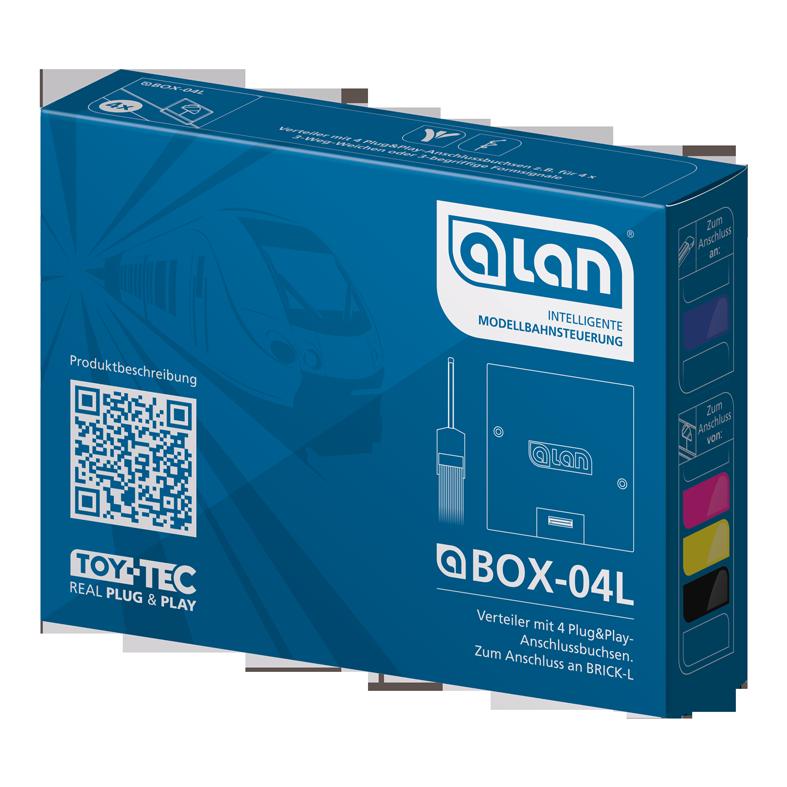 ALAN Verteiler BOX-04L Verpackung Artikel-Nummer 11404