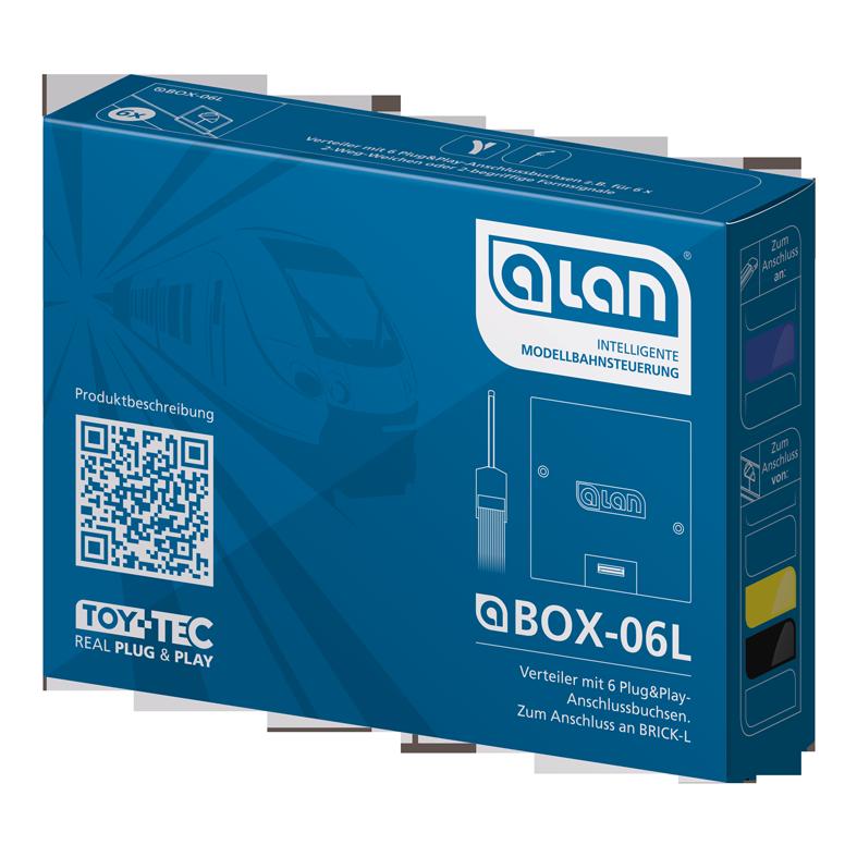 ALAN Verteiler BOX-06L Verpackung Artikel-Nummer 11406