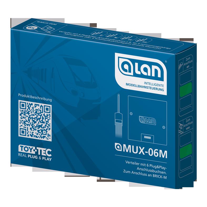 ALAN Multiplexer MUX-06M Verpackung Artikel-Nummer 11506