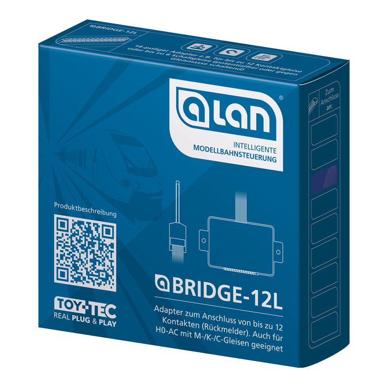 ALAN Adapter BRIDGE-12L Verpackung Artikel-Nummer 18122