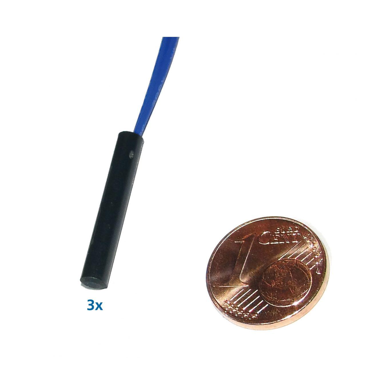 Set ALAN Reed-Schalter 3x mittel, 4 Millimeter Durchmesser Artikel-Nummer 87114