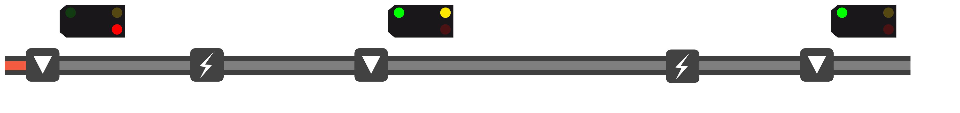 Visualisierung der ALAN Blocksignalisierung - Bild 17 von 18