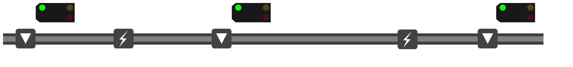 Visualisierung der ALAN Blocksignalisierung - Bild 01 von 18